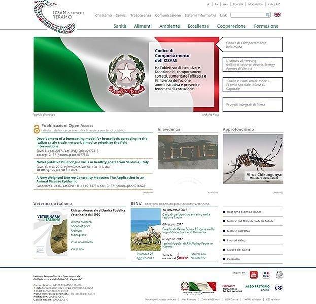 Teramo, sito dell'Izs primo nella classifica della trasparenza delle pubbliche amministrazioni
