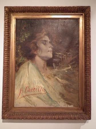 Ortona, il dipinto 'I fiori di cardo' torna al suo splendore