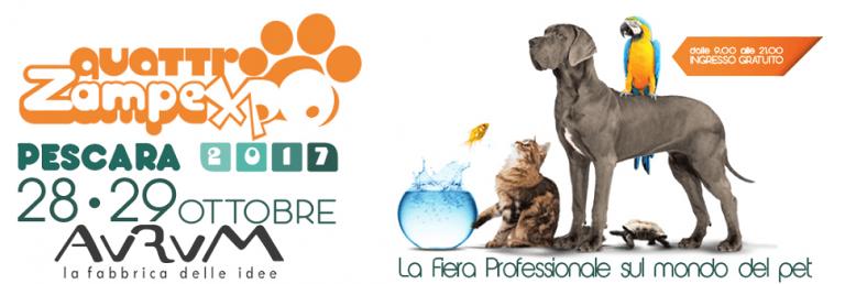 Pescara, arriva la Fiera dedicata al mondo degli amici a 4 zampe
