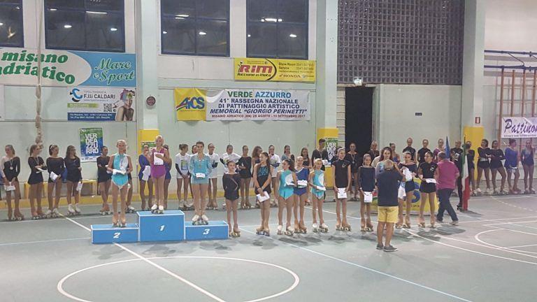 Pattinaggio, tre medaglie per il GSD Aprutino ai campionati italiani