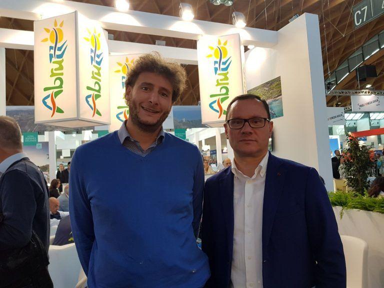 Roseto, il sindaco alla Fiera del Turismo di Rimini
