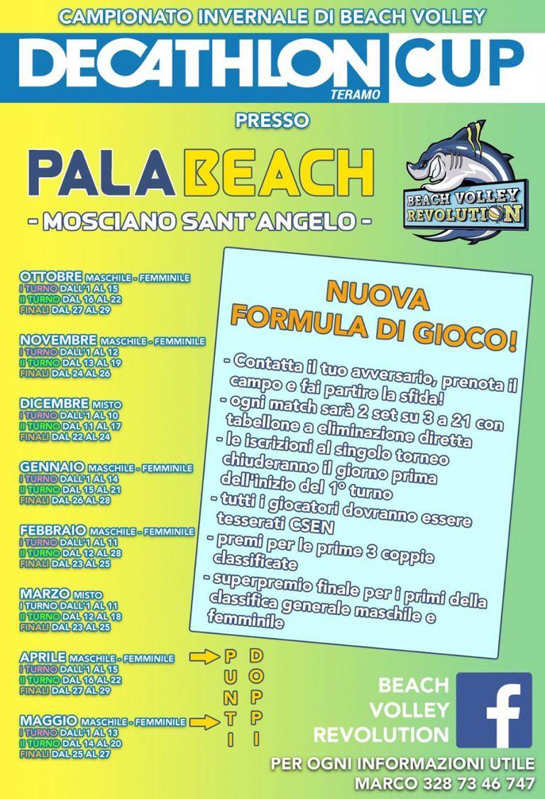 Beach Volley Revolution: novità in vista per i tornei| Mosciano S.Angelo