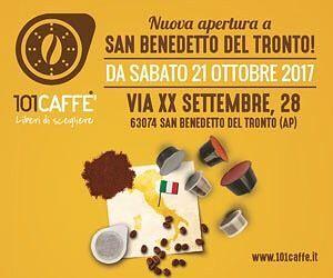 """""""Liberi di scegliere"""" il proprio gusto con 101CAFFE?'   San Benedetto del Tronto"""
