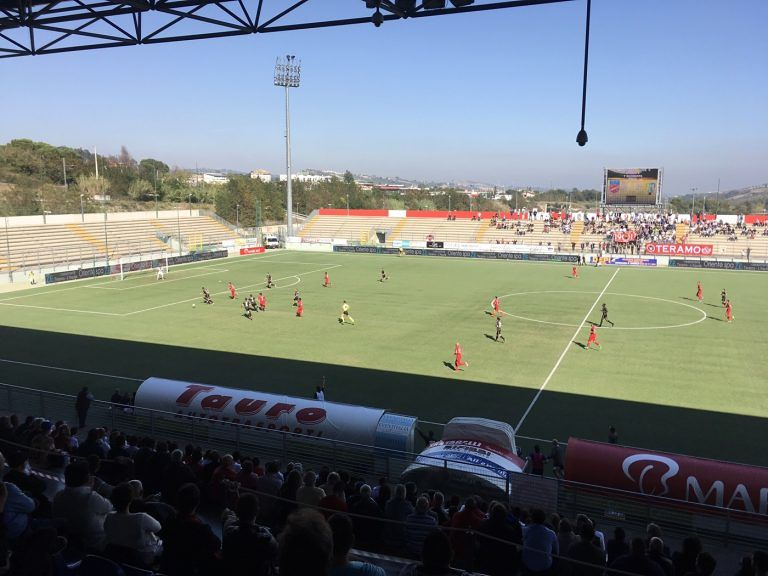 Serie C, il Teramo fa ancora 0-0 contro la Feralpisalò