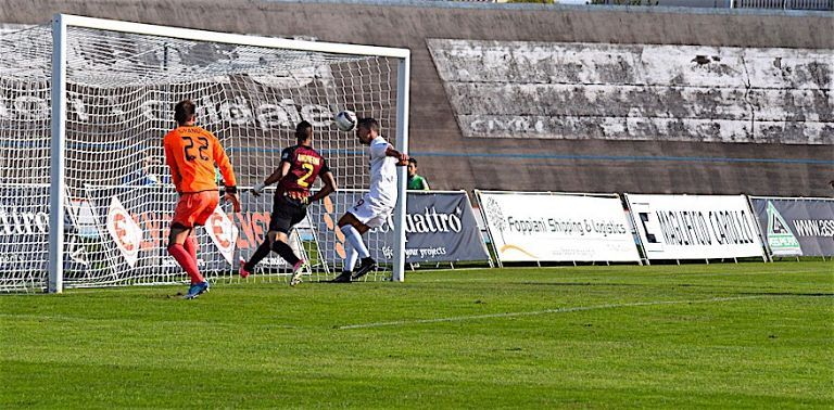 Serie C, cuore Teramo: pareggio in extremis contro il Bassano (1-1)