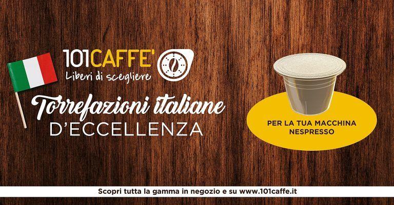 Miscele   e   monorigini   per   Nespresso   conquistano    i   clienti   101CAFFE'     San   Benedetto del Tronto
