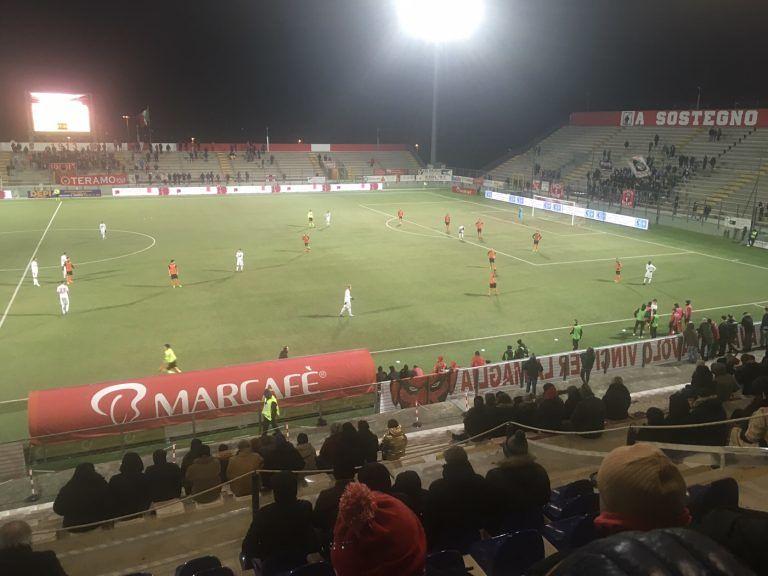Serie C, il Teramo si regala un Natale sereno: battuto il Mestre (2-0)