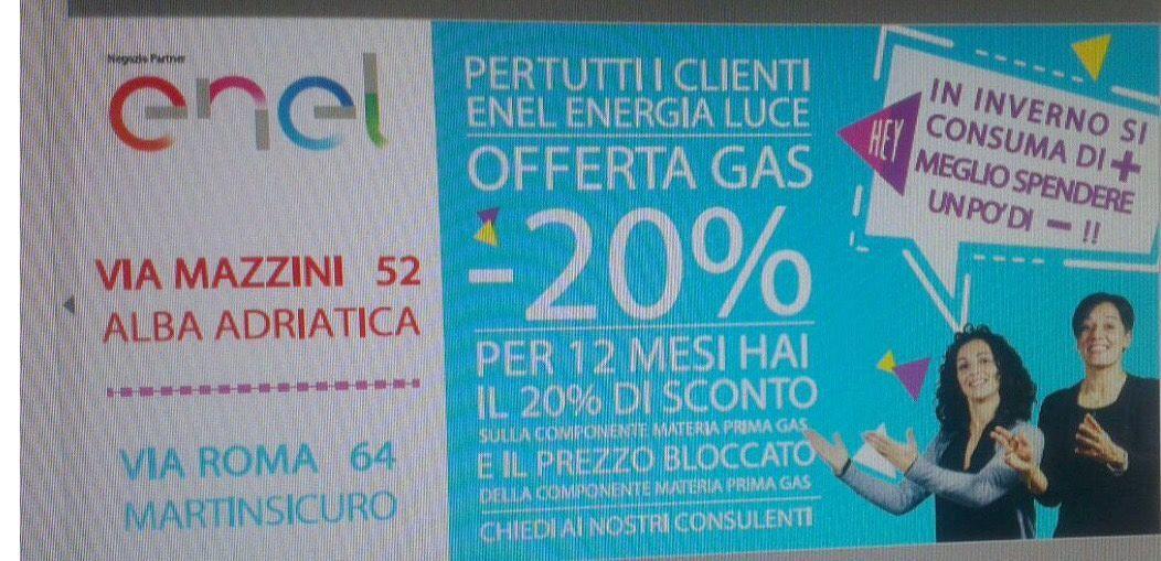 Enel Energia: offerta gas -20% per tutti i clienti Enel ...