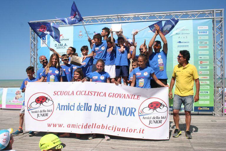 Montesilvano, premi ai giovani atleti di Amici della bici junior