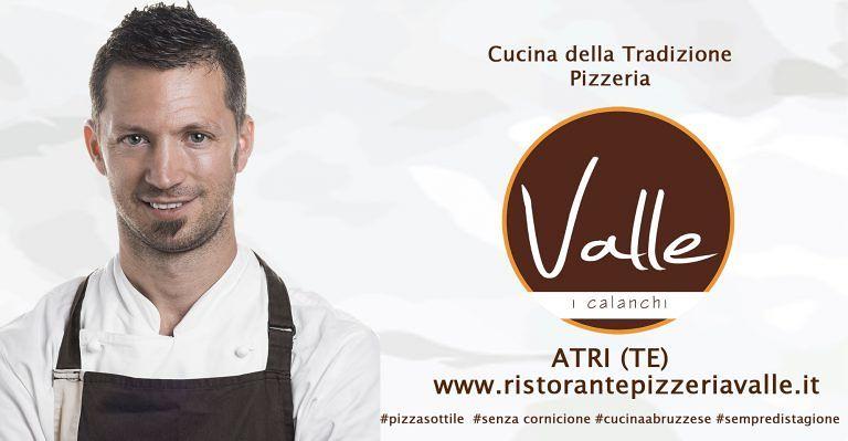 """Ristorante Pizzeria Valle: La pizza di Gennaio """"Collisione D' Inverno"""" é la stagionale più richiesta  Atri"""