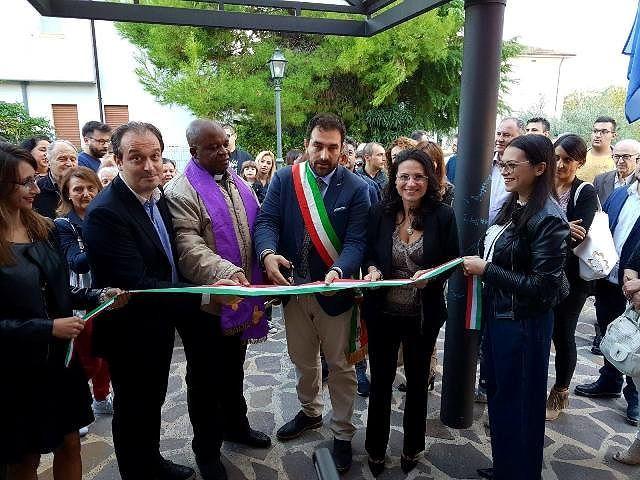 Affollatissima inaugurazione del nuovo Teatro Studio a Treglio