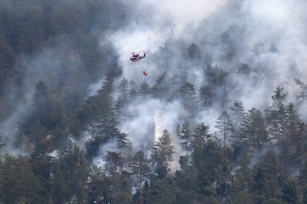 Abruzzo, ecco la carta contro gli incendi boschivi