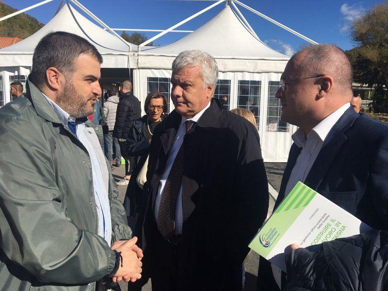 Ancarano, dissesto idrogeologico: il sindaco Panichi incontra il Ministro Galletti