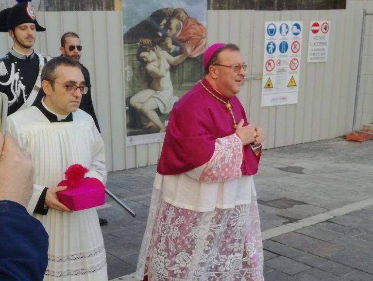 Atri, il Vescovo Leuzzi inaugura la nuova sede Unitalsi