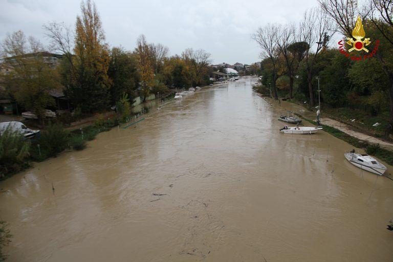 Provincia di Pescara, oltre 50 interventi dei Vigili del Fuoco per il maltempo