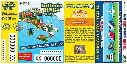 Lotteria Italia, vendite in calo in Abruzzo