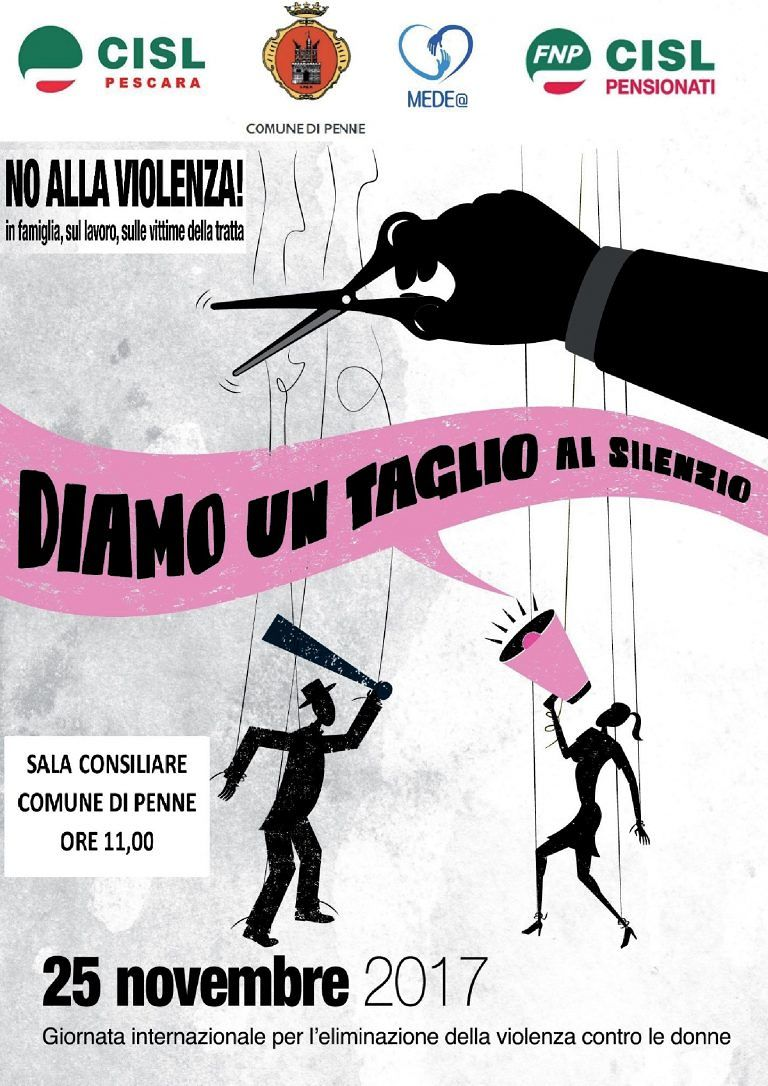Penne celebra la Giornata contro la violenza sulle Donne