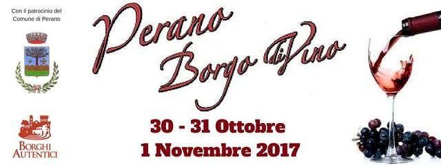 Perano, tutto pronto per la quinta edizione di 'Borgo diVino'