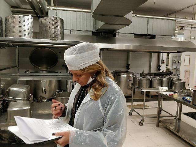 M5S ispezione le cucine degli ospedali di Chieti e Lanciano
