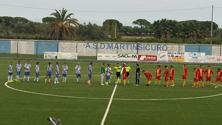 Eccellenza, Martinsicuro-Amiternina 2-1: Latini decide nel recupero FOTO VIDEO