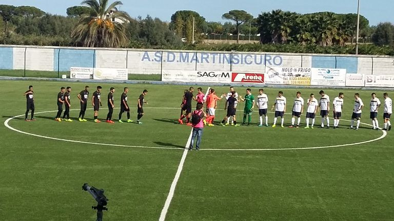 Eccellenza, Martinsicuro-Miglianico 1-0: decide De Cesaris FOTO VIDEO