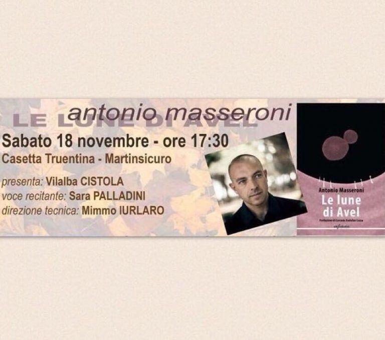"Martinsicuro, ""autunno d'autore"" ospita Antonio Masseroni"