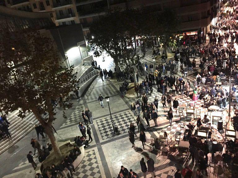 Pescara, piazza Muzii: pannelli contro il rumore della movida