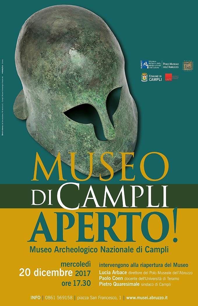 Campli, riapre al pubblico il museo archeologico