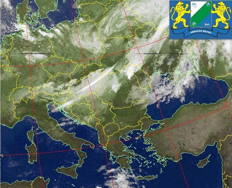 Abruzzo, irruzione di venti freddi e pioggia: temperature in calo nel weekend