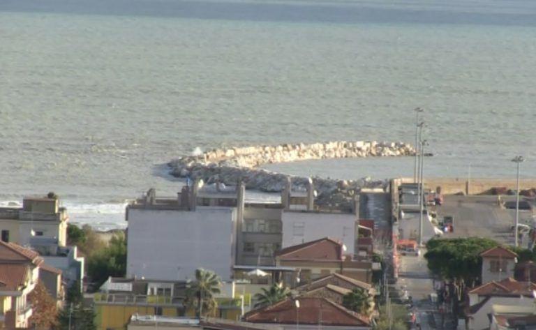 Giulianova, nuovo molo: si rischia la grande incompiuta