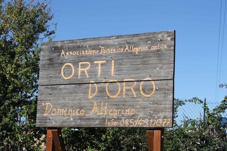 Pescara, consegnati i campi dell'Associazione Domenico Allegrino Onlus