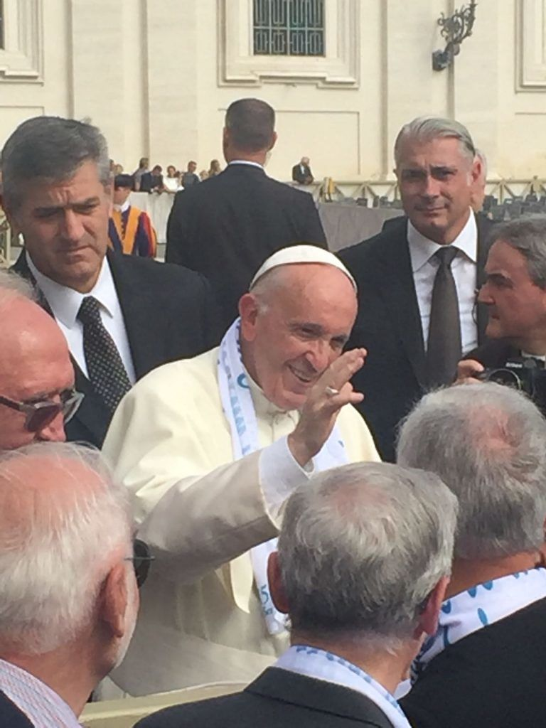 Celano, l'amministrazione alla Benedizione di Papa Francesco per i 150 anni della nascita di Padre Semeria FOTO
