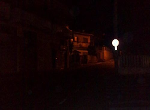 "Pescara: ""Strade al buio da settimane"""