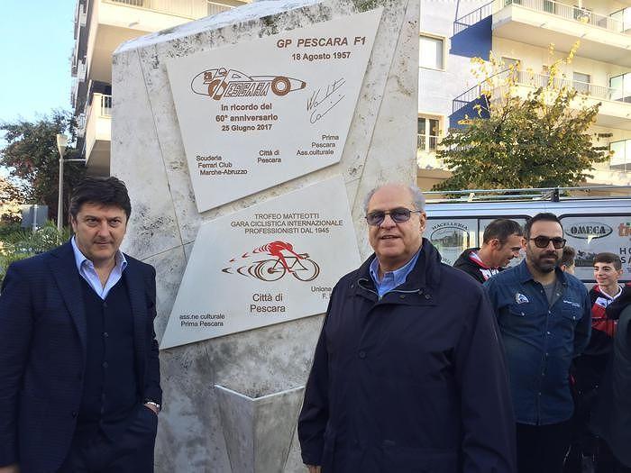 Pescara, in piazza Duca una targa per Coppa Acerbo e Matteotti