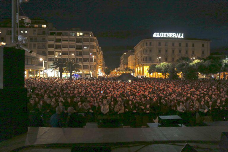 Pescara, Capodanno in piazza: tutte le misure di sicurezza