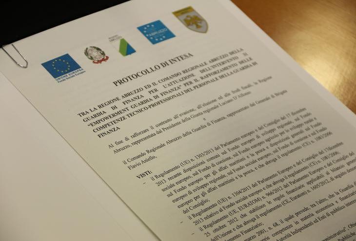 Abruzzo, evasione e frodi fiscali: formato protocollo Regione-Finanza