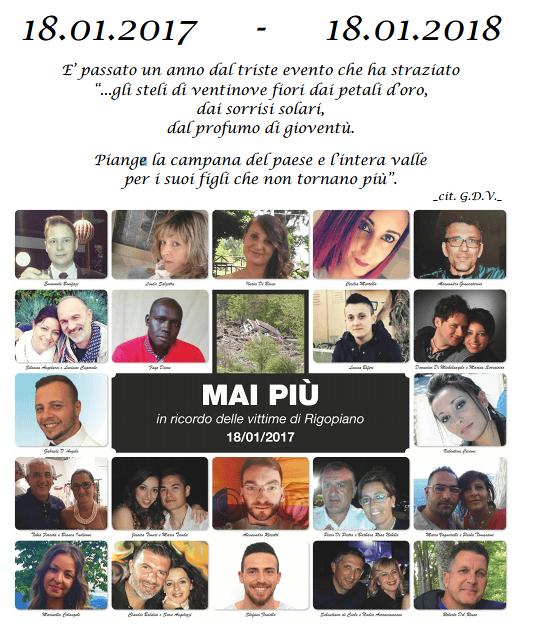 """""""Dove la neve non cade"""": la canzone, tutta abruzzese, per ricordare le vittime di Rigopiano VIDEO"""