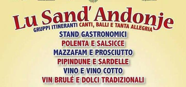 Teramo, torna la manifestazione Lu Sand'Andonje a Nepezzano