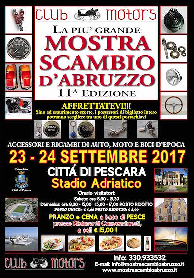 Pescara, undicesima edizione della Mostra Scambio