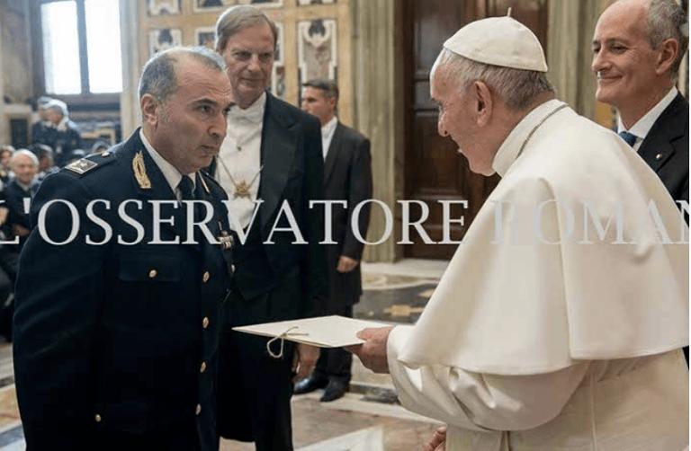 Teramo, Papa Francesco elogia il sostituto commissario Bernardi della stradale