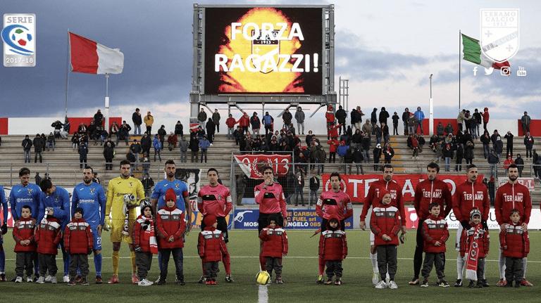 Serie C, il Teramo vuole chiudere il 2017 con una vittoria