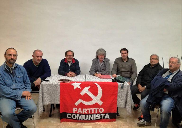 Castelnuovo Vomano, il Partito Comunista appoggia i lavoratori della Dg Capital Service