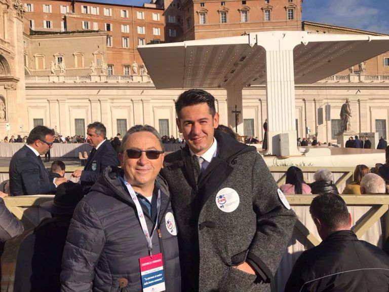 Assemblea annuale Fipe: Confcommercio di Teramo in udienza del Papa