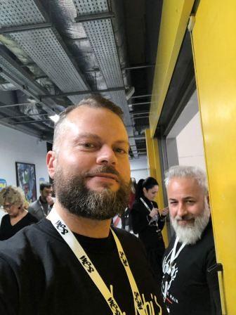 Il parrucchiere di Lanciano Silvio Luciani 'Official hair stylist' di Sanremo