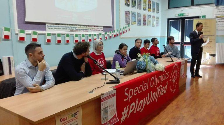 Roseto, il team Special Olympics dell'Istituto Moretti di nuovo in campo contro la disabilità (FOTO)