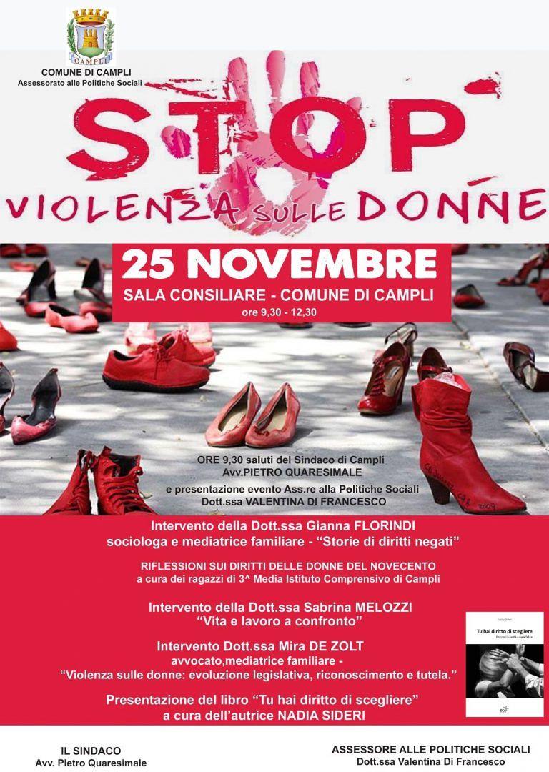 Campli, stop violenza sulle donne: convegno in Comune