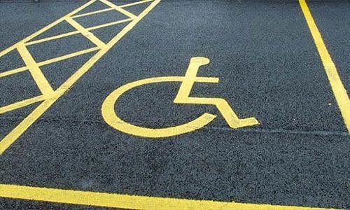 Pescara, più strisce per disabili