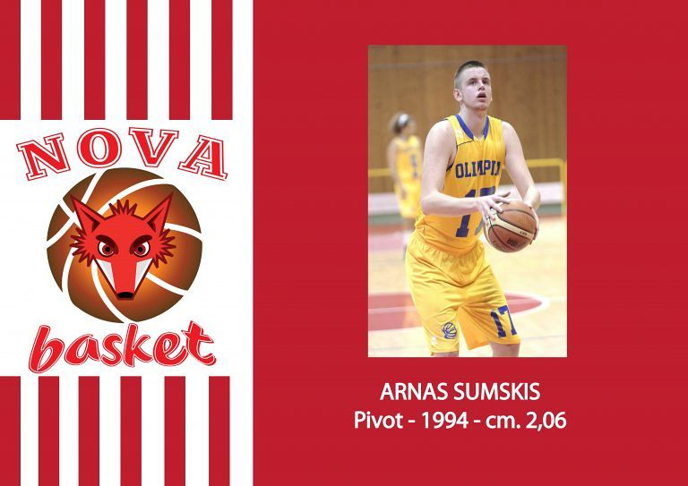 Basket, Nova Campli tessera il lituano Sumskis