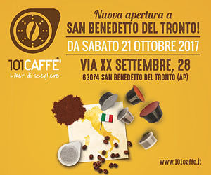 101 Caffè San Benedetto del Tronto: Inaugurazione domani 21 ottobre
