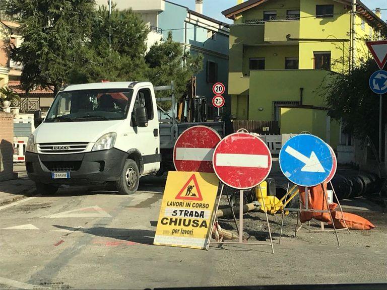 Montesilvano, via ai lavori anti-allagamenti in via Castellano